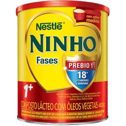 Leite Em Pó 1+Com Prebio Ninho Fases 400g