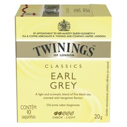 Chá Twinings Earl Grey Prt.Bergamota 20g 10Un