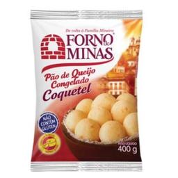 Pão De Queijo Coquetel Original Forno De Mina 400g
