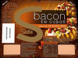 Bacon Sadia Cubos 140g