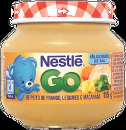 Papinha Infantil Galinha/Legumes/Macarrão Nestle 115g