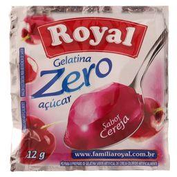 Gelatina Zero Cereja Royal 12G