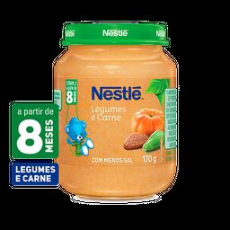 Papinha NESTLÉ legumes e carne 170g