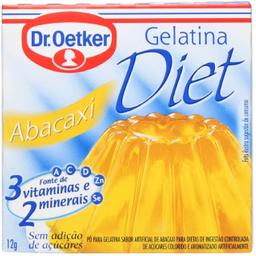 Gelatina Diet Abacaxi Oetker 12G
