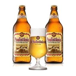 Kit Cerveja Paulistania 2Gfs+Copo300ml 1Un