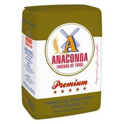 Farinha De Trigo Premium Anaconda 1Kg