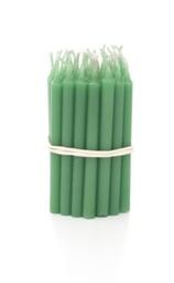 Pack Velas P Verde Claro P/Bolo Parangole