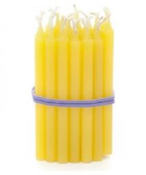 Pack Velas P Amarelo P/Bolo Parangole