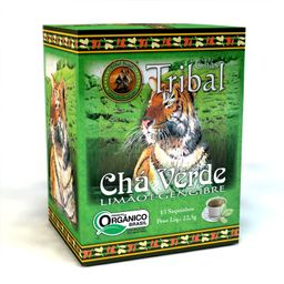 Cha C/15 Cha Verde/Limao/Gengi Org Tribal 15G