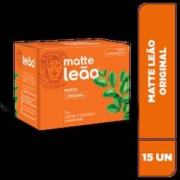 Chá Matte Leão Original - 15 Sachês