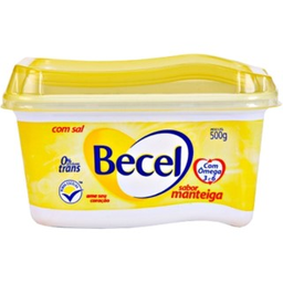 Margarina Com Sal Sabor Manteiga Becel 500g