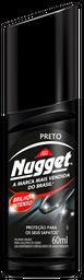 Graxa Para Calçados Líquida Preta Nugget 60 mL