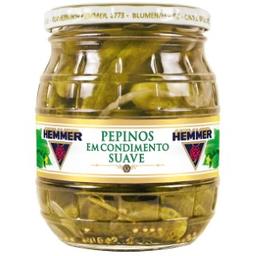 Hemmer Pepino Em Condimento Suave