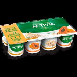 Iogurte Probióticos Activia Polpa Mamão Cereais e Aveia 800g