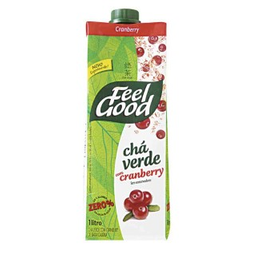 Chá Verde Com Cranberry Feel Good 1L