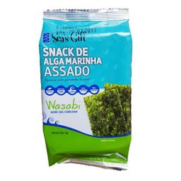 Seas Gift Snack De Alga Marinha Wasabi Awp 5g