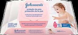 Lenços Umedecidos Johnson's Baby Extra Cuidado 48 Unidades