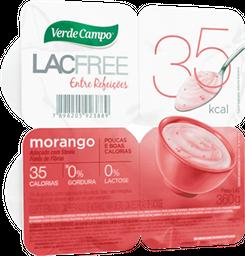 Iogurte Polpa Lacfree Morango Verde Campo 360g