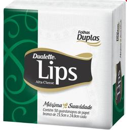 Guardanapo Fl Dupla Lips Pq 50Fls