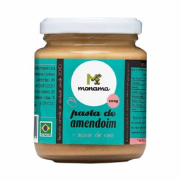 Pasta De Amendoim C/Ac.Coco Monama 200G
