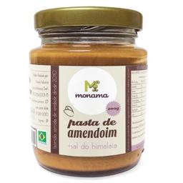 Pasta De Amendoim Sal Do Himalaia Monama 200G