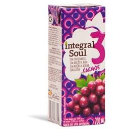 Suco Uva Integral Soul Tp 200ml