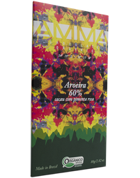 Chocolate Aroeira 60% Amma Chocolates 80g