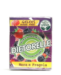 Balas De Geleia Amora E Morango Dietorelle 40G