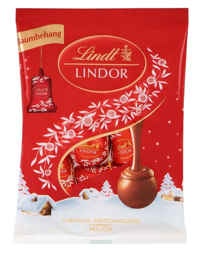 Chocolate Ornaments Milk Lindt Lindor 100G