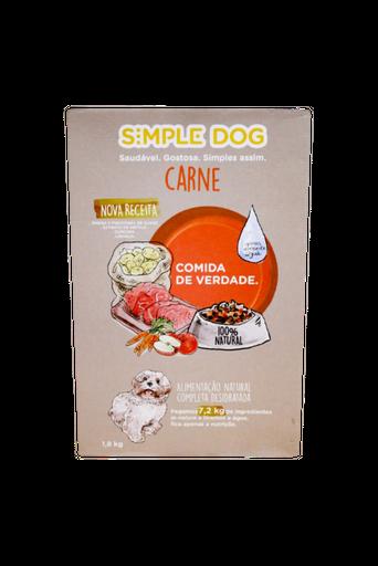 Alimento Natural P/ Cao Carne Simple Dog 18Kg