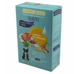 Alimento Natural P/ Cao Frango Simple Dog 18Kg