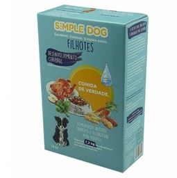 Alimento Natural P/ Cao Frango Simple Dog 18Kg