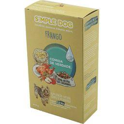 Alimento Natural P/ Cao Frango Simple Dog 440G