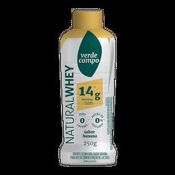 Iogurte Líquido Whey Banana Verde Campo 250g