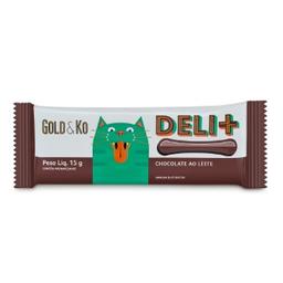 Chocolate Ao Leite Deli+ Gold E Ko 15g