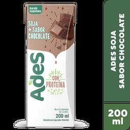 Bebida A Base De Soja Chocolate Ades 200ml