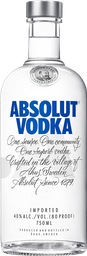 Vodka Sue Absolut Natural 750ml