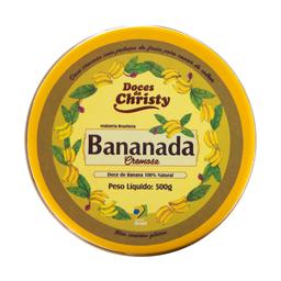 Bananada Cremosa Doces Da Christy 500g