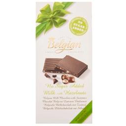 Chocolate + Hazelnuts Sem Açúcar Belgian 100g