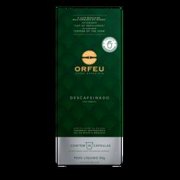 Café Orfeu Capsula Descafeinado 10X5G