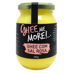 Manteiga Clarificada Com Sal Rosa Ghee Me More 200g