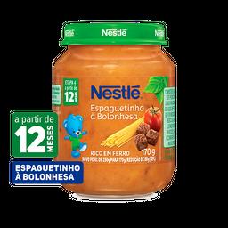 Papinha NESTLÉ espaguetinho à bolonhesa 170g