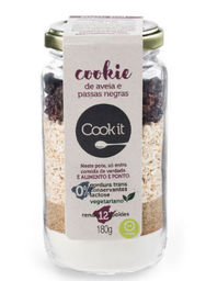 Cookie Aveia E Passas Cookiit 180G