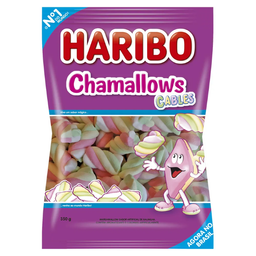 Marshmallow Chamallows Cables Haribo 250G