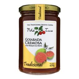 Goiabada Cremosa Nha Tuca 400g