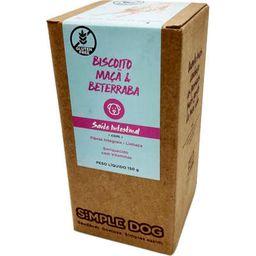 Biscoito Caes Maca/Beterraba Simple Dog 150G