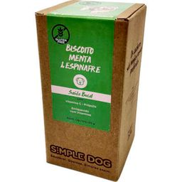 Biscoito Caes Menta/Espinafre Simple Dog 150G