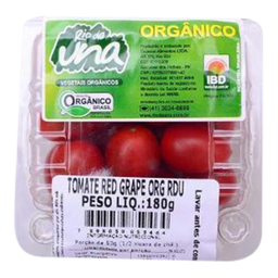 Tomate Red Grape Orgânico Rdu 180g