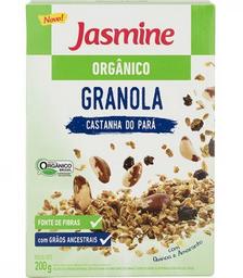 Granola Orgânico Castanha Do Para Jasmine 200g