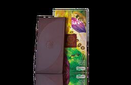 Chocolate Orgânico 60% Cacau Com Grãos De Café Mendoa 80